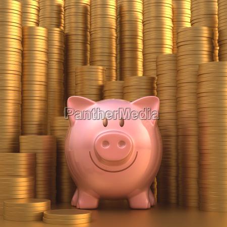 saving gold coin