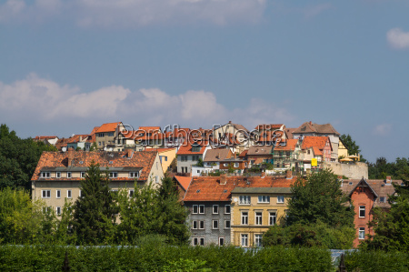 view of the coin mountain quedlinburg