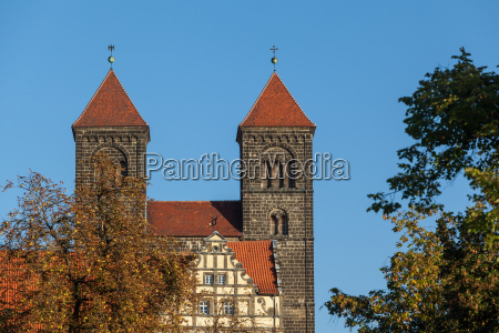view of the collegiate church of