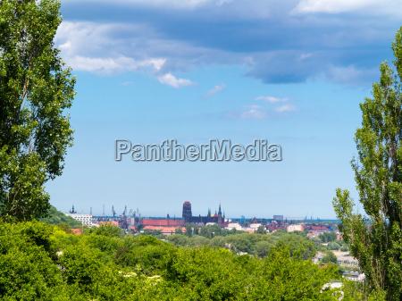 stadtbild polnisch altstadt danzig danzig in