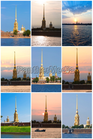 peter and paul fortress in st