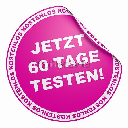 3d sticker pink free 60