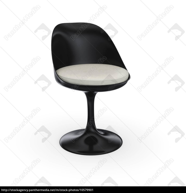 Lizenzfreies Bild 10579901 Futuristischer Stuhl Schwarz Weiss