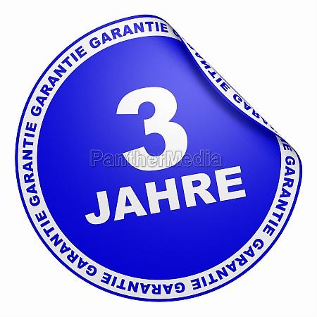 3d sticker dark blue 3