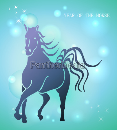 happy chinese new year of horse