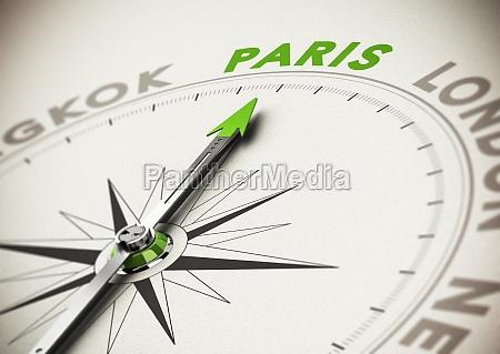 travel destination idea paris