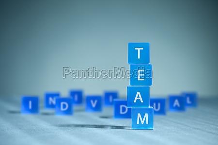 teamwork gegen individualismus