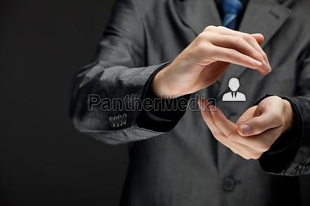 patron und individualitaet konzept