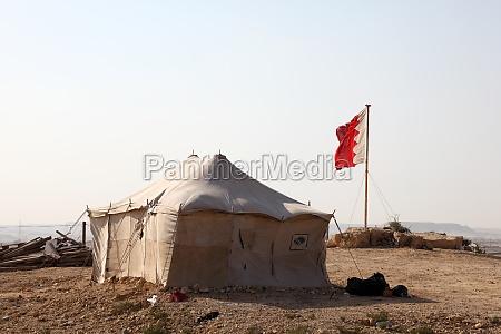 desert camp in bahrain middle east
