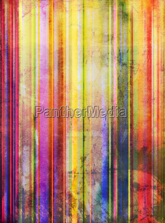 watercolor abstract old stripes
