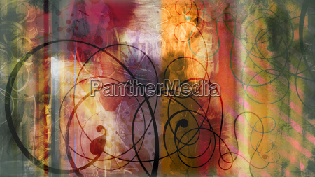 painting graphic textures decoration