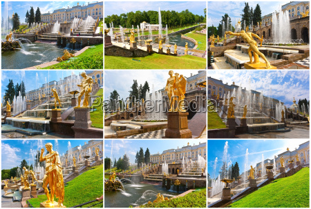 peterhof in saint petersburg