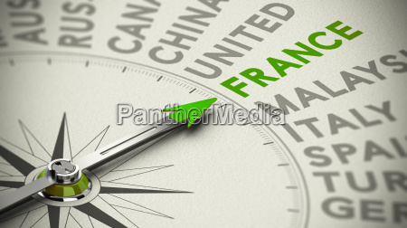 travel decision making concept france