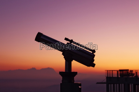 aussichtsfernrohr panoramaausblick vom pfaender