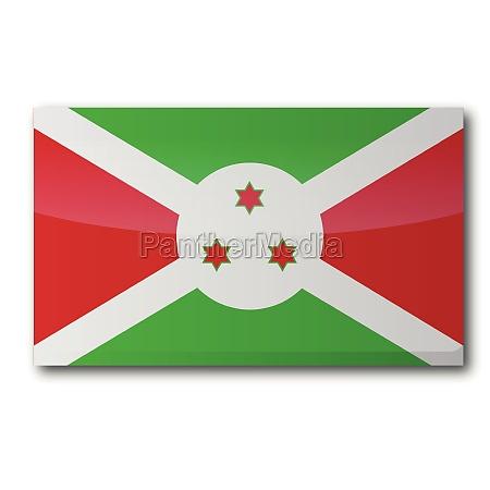 flagge burundi