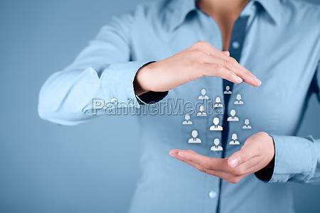 personal und kundenbetreuung