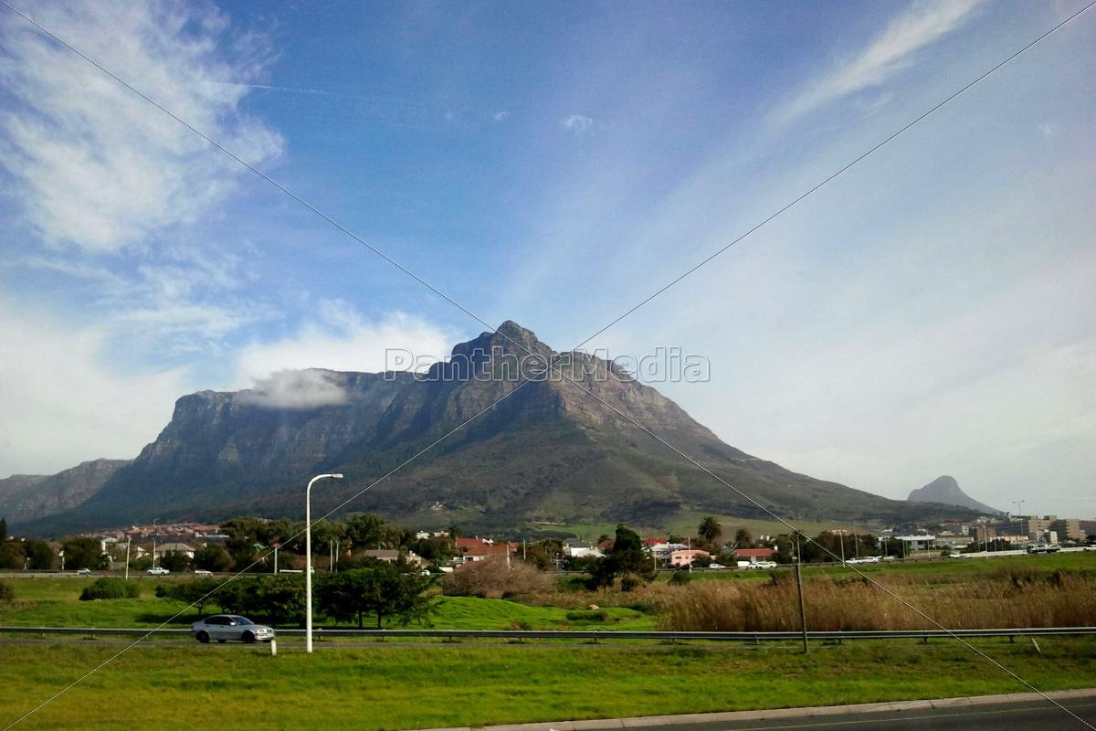 Tafelberg, Kapstadt, Südafrika, Landschaft, Aussicht, Panorama - 10854668