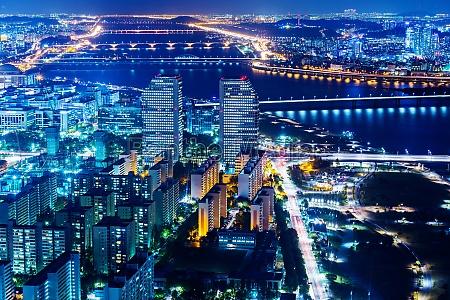 turm bauten stadt metropole asien bruecke