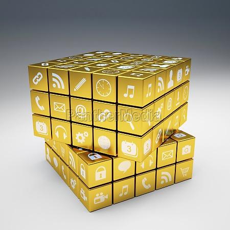 goldene ikonen