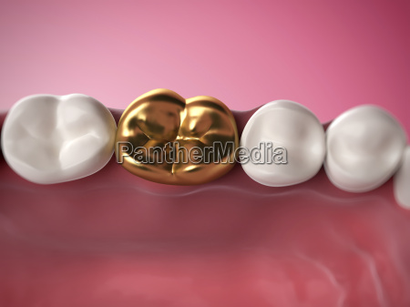 3d rendered illustration of a golden