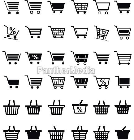 korb einkaufen shoppen shopping deal geschaeft