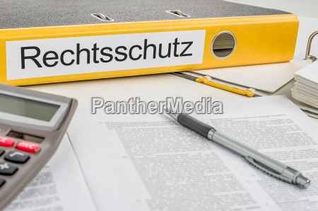 file folders labeled legal