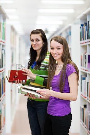 in der bibliothek huebsch suchen