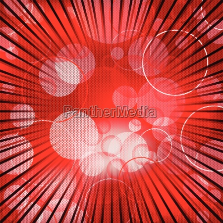 abstract red background design with bursting