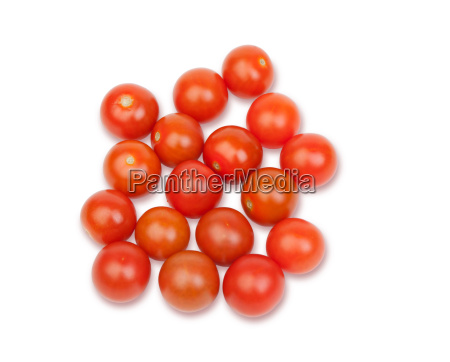 many small tomatoes