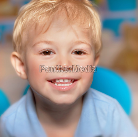 cute smiling boy