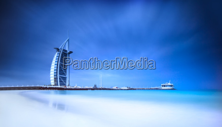 burj al arab hotel on jumeirah