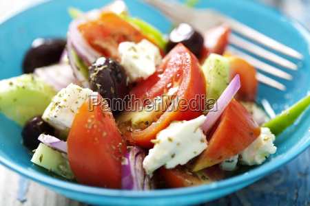 rustikal griechischer salat