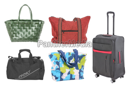 bags suitcases basket