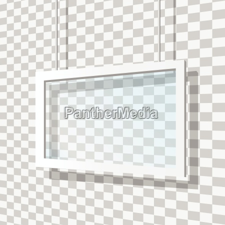 glass frame vector illustration