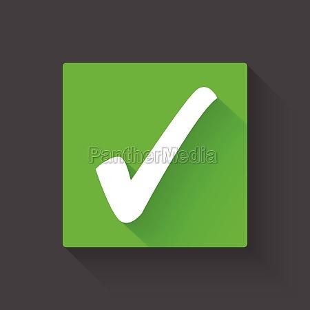 check mark vector illustration