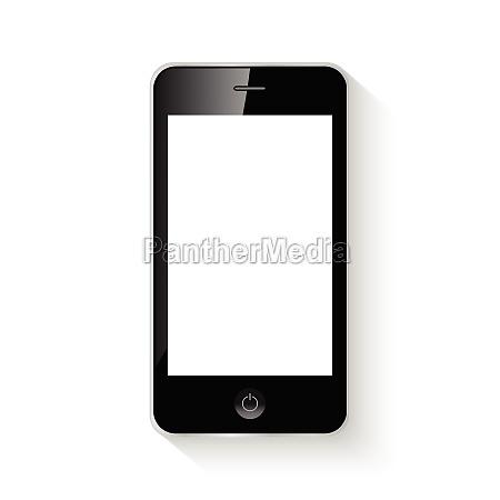 mobile smart phone vector illustration