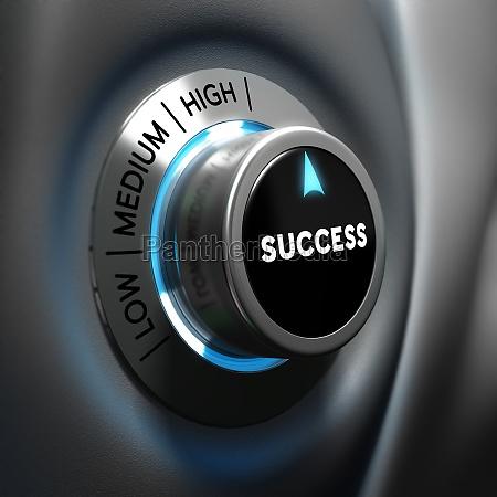 business success concept motivation