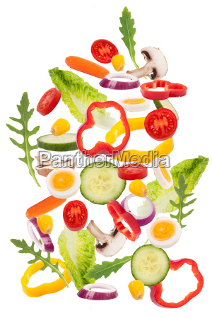 frische salatzutaten