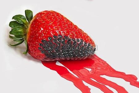 erdbeerfarbe