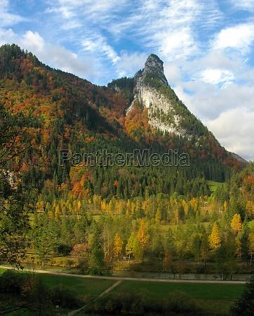blick auf kofel ammergauer alpen oberbayern