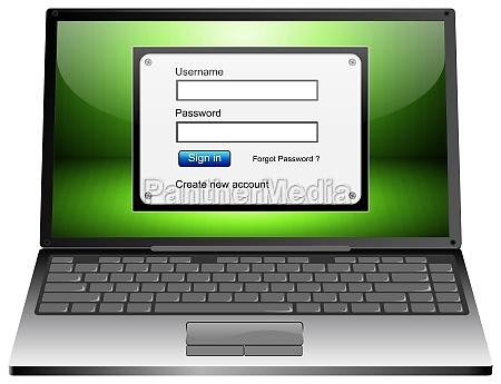 laptop notebook computer verbindung anschluss konnektivitaet
