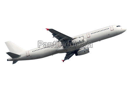airplane isolated against a white background
