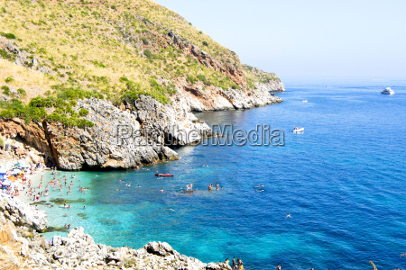 strand kueste sizilien reserve reservieren vorbehalten