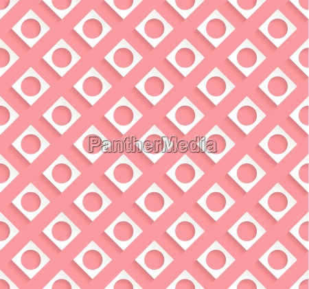 stylish pattern design with light red