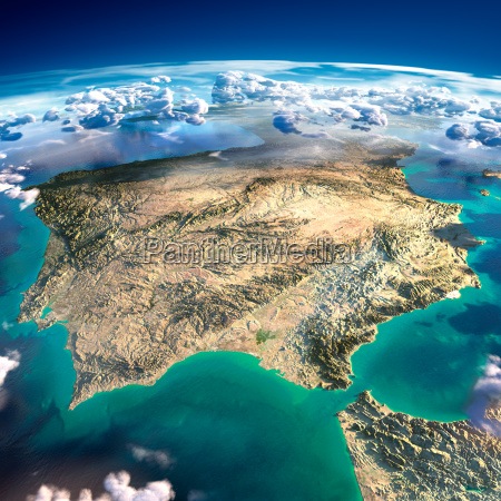fragments of the planet earth spain