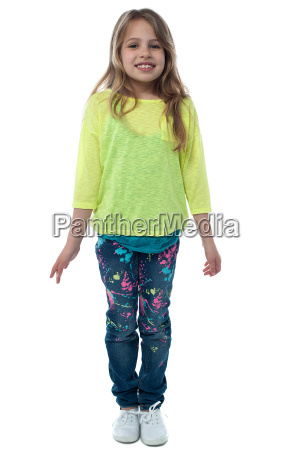 fashionable pretty cute girl