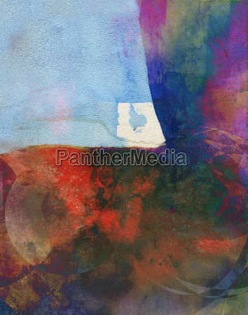 watercolor abstract pattern colorful