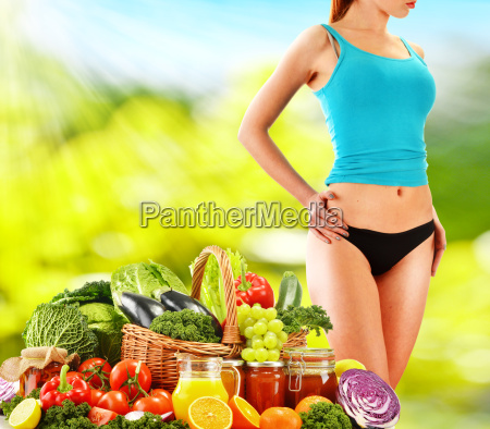 dieting balanced diet based on raw