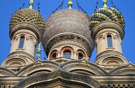 russisch ortodoxe kirche san basilio in