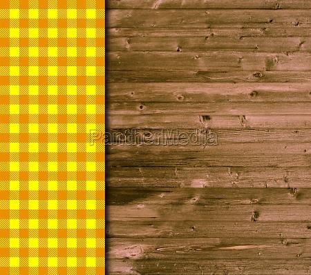 holz tischdecke orangefarben orange tischplatte tafel